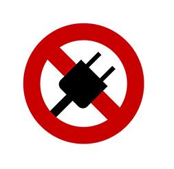 iPhone水没したら通電禁止